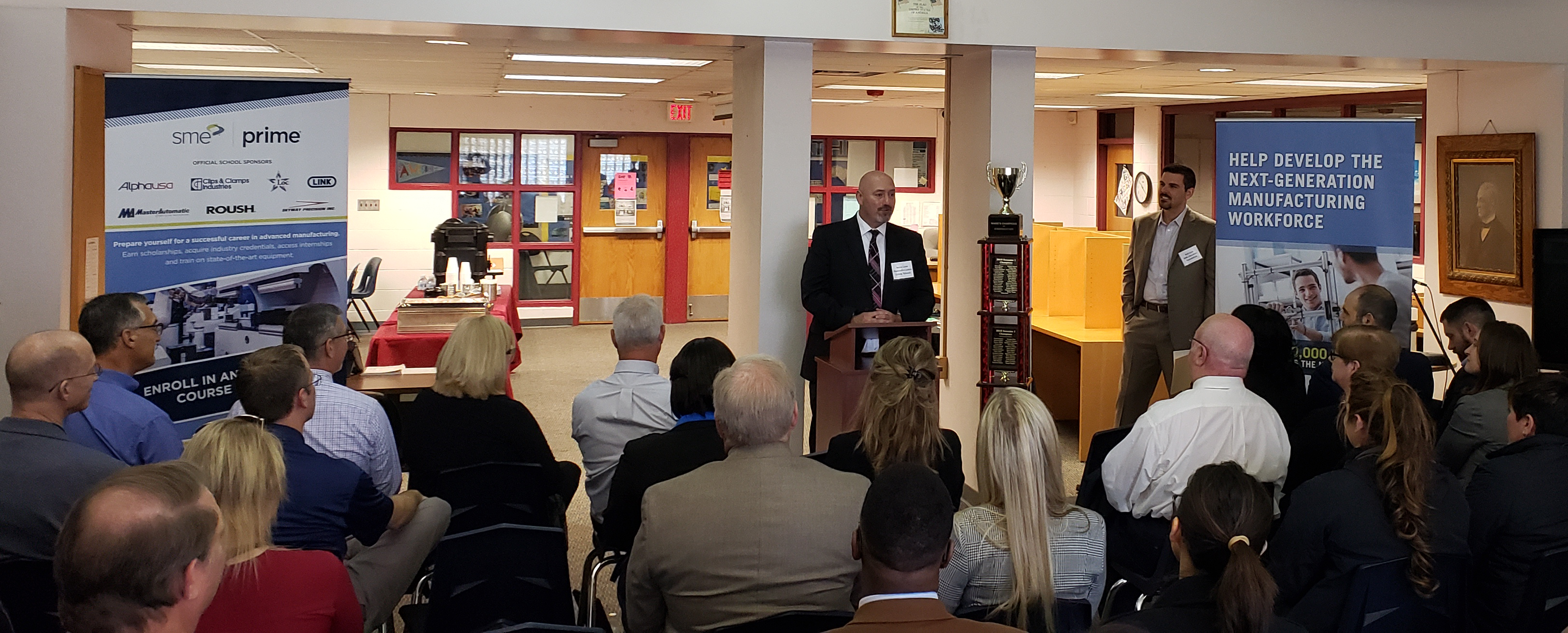 2019 SME PRIME Launch - Starkweather Academy - Starkweather Principal Kevin Lane 2.png