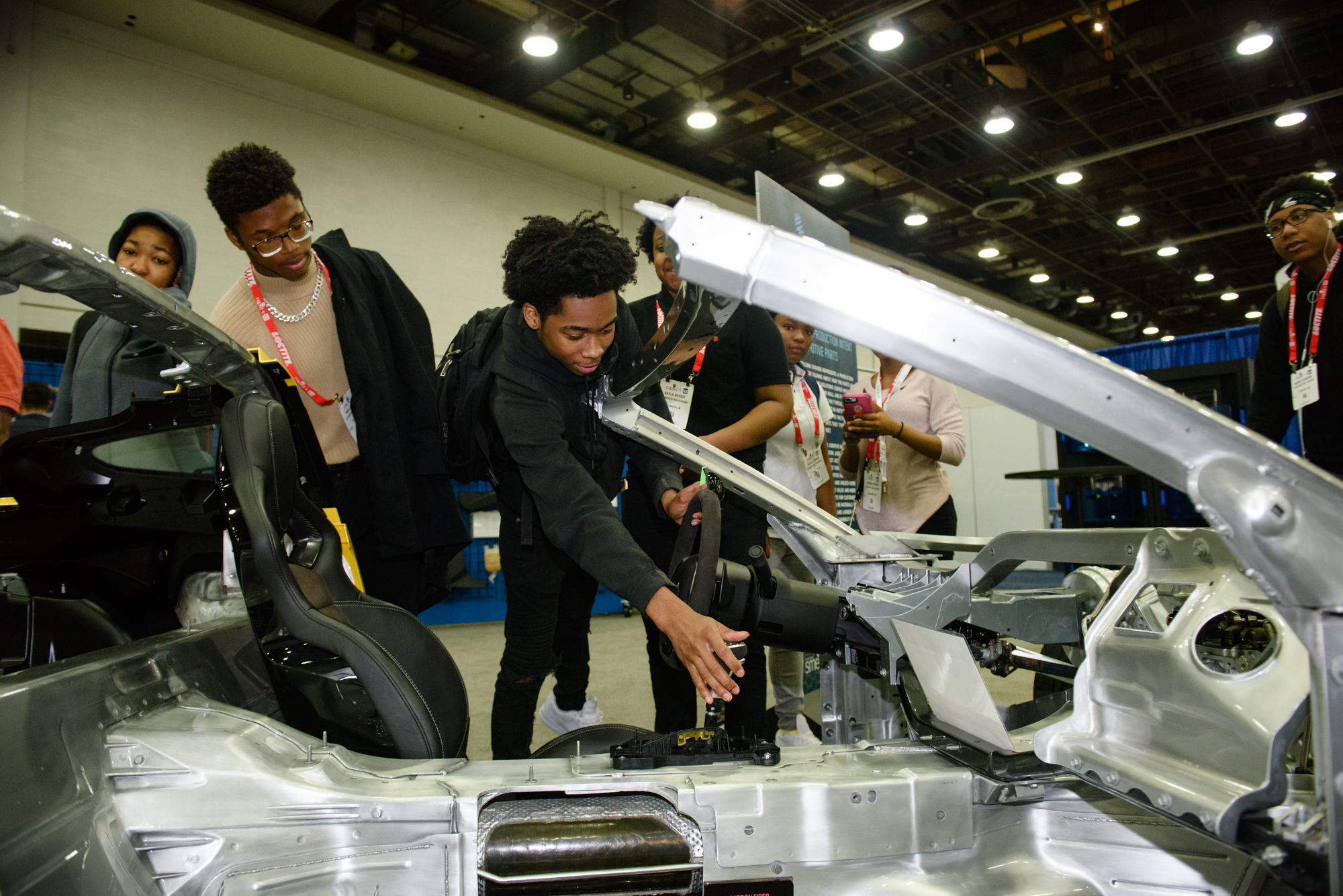 2019-5 RAPID + TCT - Student Summit - Show-floor Tour 3D printed car 2.jpg